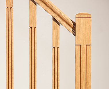 George Quinn Stair Parts Plus - Lisbon Contemporary Range Staircase