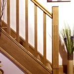 Image of a Modern staircase design, Tuscan collection| George Quinn Stair Parts Plus