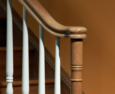 Image of a Traditional staircase design, Boston collection | George Quinn Stair Parts Plus