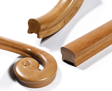 Image of Handrail components | George Quinn Stair Parts Plus