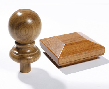 Image of Newel post caps | George Quinn Stair Parts Plus