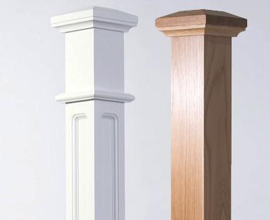 Image of Newel posts | George Quinn Stair Parts Plus