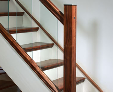Image Of A Modern Glass Staircase Design, Urbana Collection | George Quinn Stair  Parts Plus