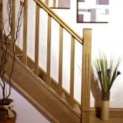 Modern Staircase design, Tuscan collection | George Quinn Stair parts Plus