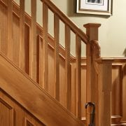 Stop chamfered staircase design, Boyne collection | George Quinn Stair Parts Plus