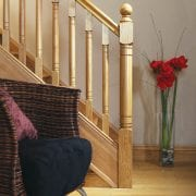 Modern staircase design, Erne collection | George Quinn Stair Parts Plus
