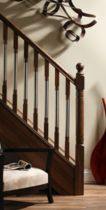 Image of Modern staircase design, Erne collection - George Quinn Stair Parts Plus