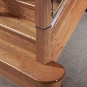 George Quinn Stair Parts – Bullnose Step and Riser