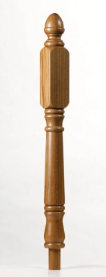 Achill Long Square Newel Post - George Quinn Stair Parts Plus