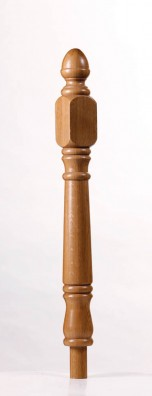 Achill Short Square Newel Post - George Quinn Stair Parts Plus