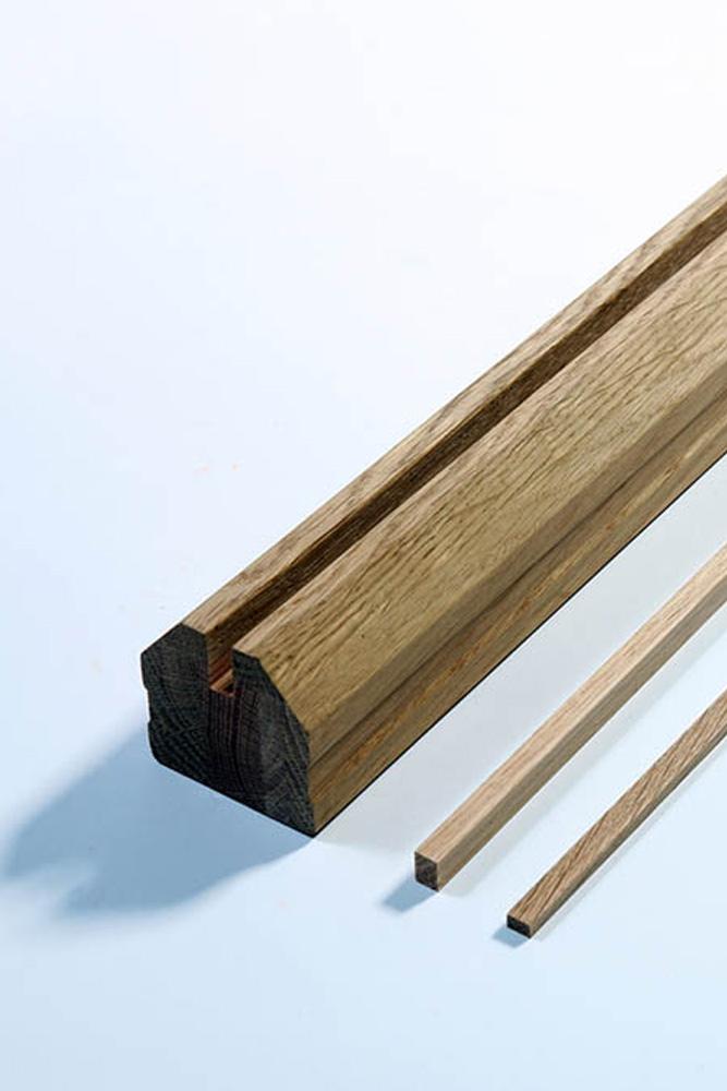 Base Rail for glass staircase | George Quinn Stair Parts Plus