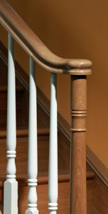 Image of Traditional stair parts design, Boston collection | George Quinn Stair Parts Plus