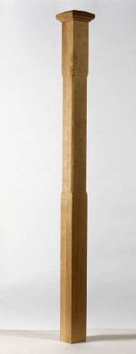 Image of Boyne Chamfered Full Newel Post | George Quinn Stair Parts Plus