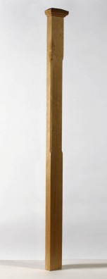Image of Boyne chamfered half newel post | George Quinn Stair Parts Plus