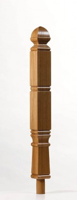 Image of Concra Double Square Newel Post | George Quinn Stair Parts Plus