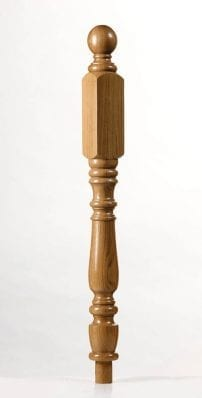 Image of Corby Long Square Newel Post | George Quinn Stair Parts Plus