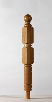 Image of Erne UK Double square Newel post | George Quinn Stair Parts Plus