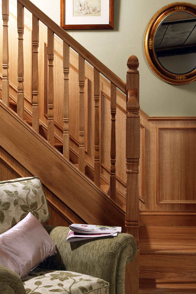 Concra Long Square Newel Post George Quinn Stair Parts Plus