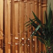 Square turned spindles, Concra collection   George Quinn Stair Parts Plus