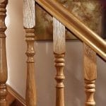 Image of Handrail used in our Exclusive staircase design - George Quinn Stair Parts Plus