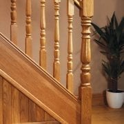 Exclusive staircase design, Corby collection | George Quinn Stair Parts Plus