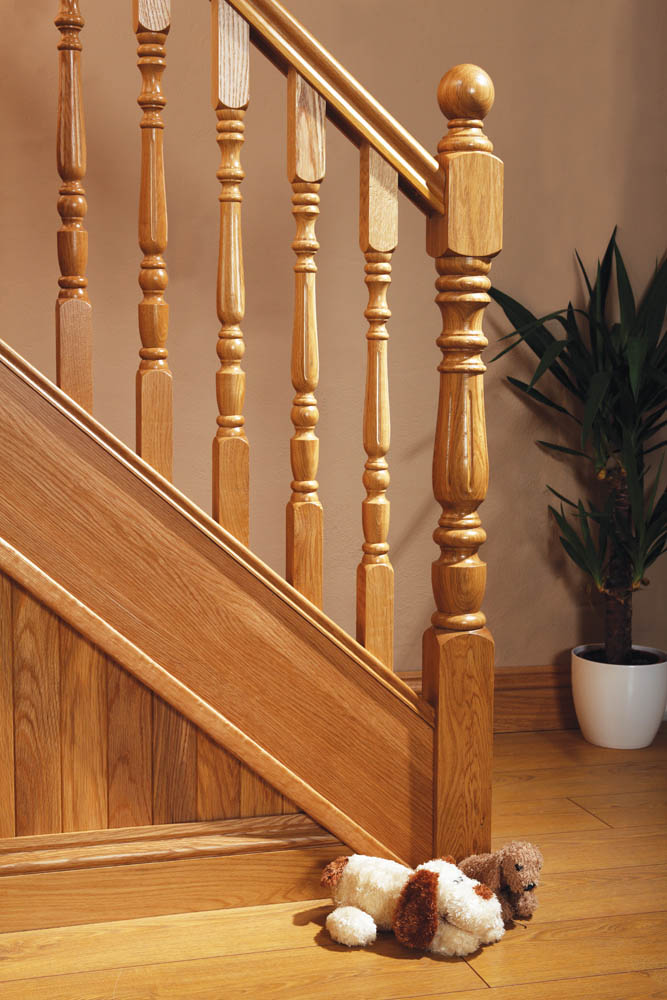 Corby Uk Double Square Fluted Newel Post George Quinn