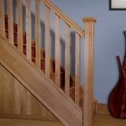 Staircase design, Square collection | George Quinn Stair Parts Plus