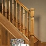 Image of Base rail used in Modern staircase design, Oriel collection - GQ Stair Parts Plus