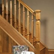 Handrail used in a Modern, Oriel staircase design – George Quinn stair parts plus
