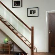 Modern, Glass staircase design | George Quinn Stair Parts Plus
