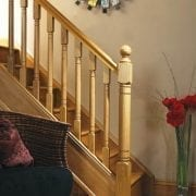 Modern staircase design, Erne collection – George Quinn Stair Parts Plus