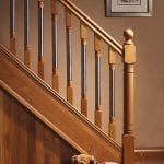 Image of Base rail used in Modern staircase design, Erne collection - GQ Stair Parts Plus