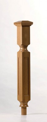 Image of Oriel Long Square Newel Post | George Quinn Stair Parts Plus