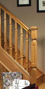 Image of Modern stair parts designs, Oriel collection | George Quinn Stair Parts Plus