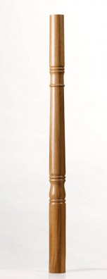 Image of Achill Scroll Newel Post - George Quinn Stair Parts Plus