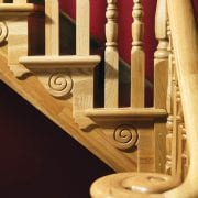 Stair brackets used in Corby staircase design – George Quinn Stair Parts Plus
