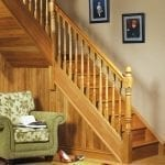 Image of a Traditional staircase design Achill collection - George Quinn Stair Parts Plus