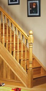 Image of Traditional staircase design, Achill collection | George Quinn Stair Parts Plus