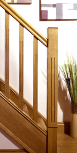 Image of Modern stair parts designs, Tuscan collection | George Quinn Stair Parts Plus
