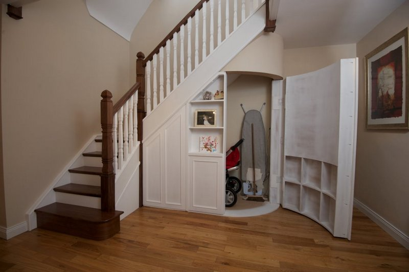 ... Under stairs storage solution - multi-purpose space - George Quinn  Stair Parts Plus ...