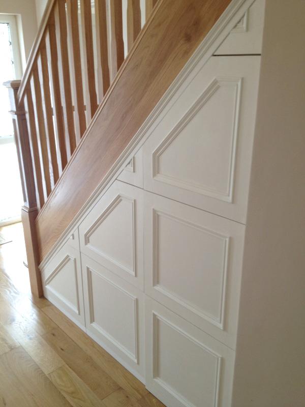 Under Staircase Storage Ideas