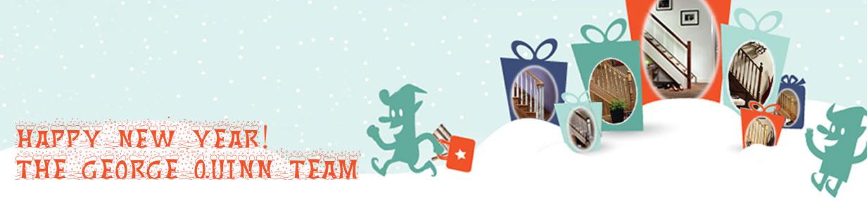 George Quinn Stair Parts Plus - Merry Christmas