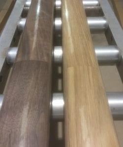 George Quinn Stair Parts Plus - White Oak & Walnut Engineered handrail