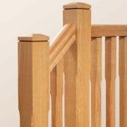 George Quinn Stair Parts Plus – Boyne Chamfer White Oak Staircase