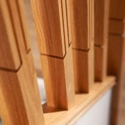 George Quinn Stair Parts Plus – Lisbon – White Oak Spindles