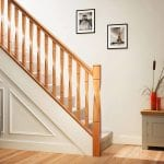White Oak Milano Twist Staircase | George Quinn Stair Parts Plus