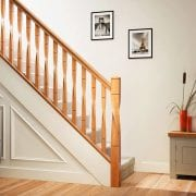 George Quinn Stair Parts Plus – Milano White Oak Staircase