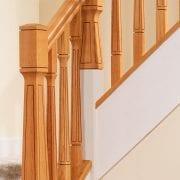 George Quinn Stair Parts Plus – Paris – White Oak Staircase