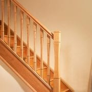George Quinn Stair Parts Plus – Vienna – White Oak Staircase