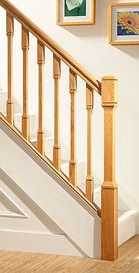 George Quinn Stair Parts Plus - Contemporary Collections : Dublin Staircase Range